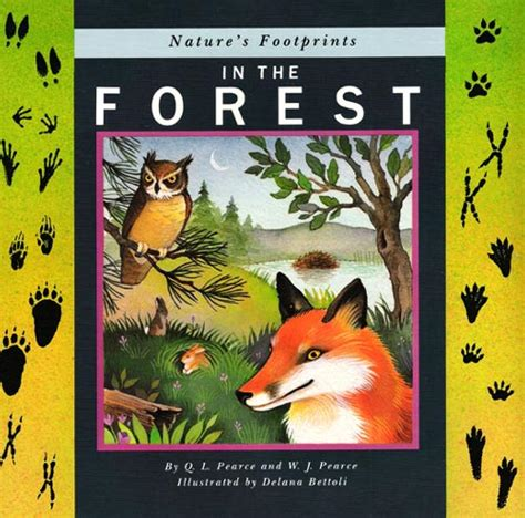 the of the forest books delana bettoli books nature s footprints in the forest