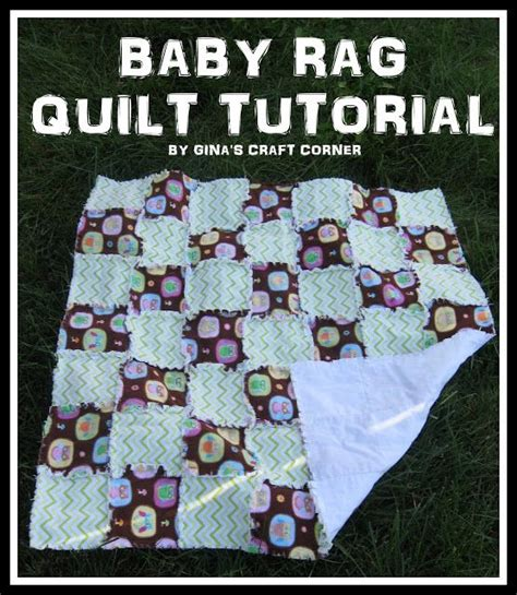 video tutorial quilting baby rag quilt tutorial quilts quilts more quilts