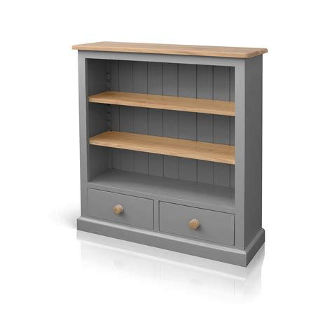 soho painted low bookcase with drawers beyond home