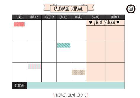 Calendario Año 2016 Vuelta Al Cole 2017 100 Plantillas Y Horarios Gratis Para