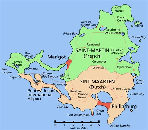 st martin map large detailed administrative map of martin st maarten large detailed administrative map