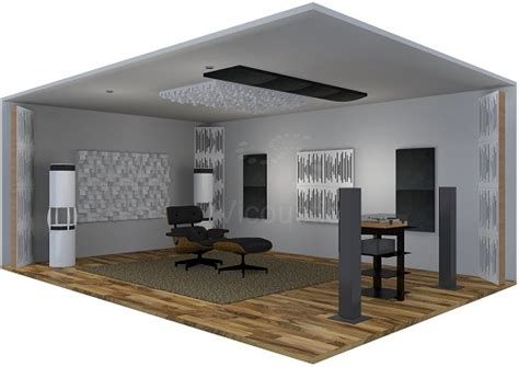 Acoustic Principles Living Room Acoustic Treatment