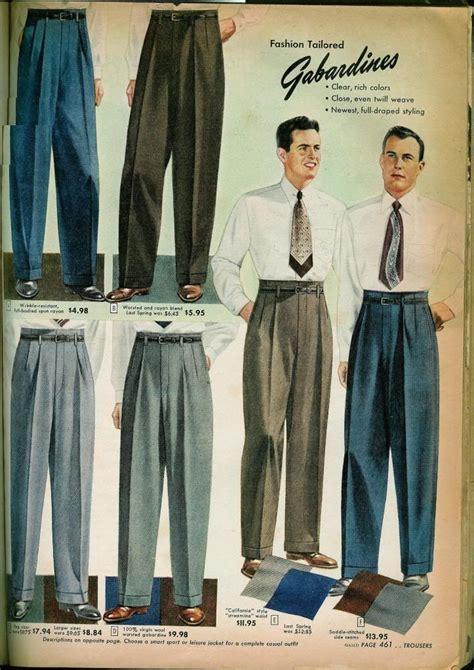 1949 sears fall winter catalog 1940 s menswear