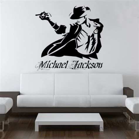 michael wall stickers michael jackson wall stickers amazing