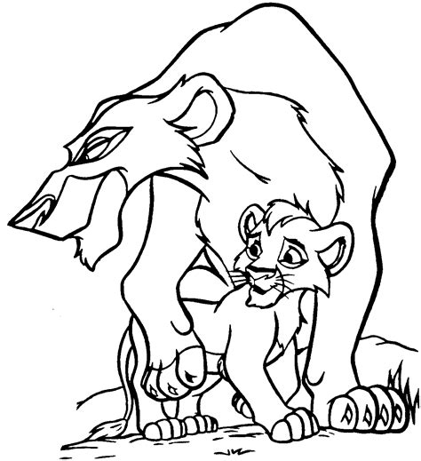 Lion King Coloring Pages Best Coloring Pages For Kids Colouring Page
