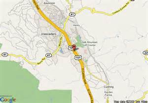 map of inn express hotel suites atascadero