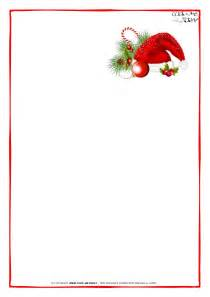 Blank Letter From Santa Template by Free Printable Letter To Santa Claus Blank Paper Template