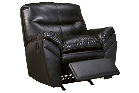 white recliner rocker dayne bonded leather rocker recliner at gardner white