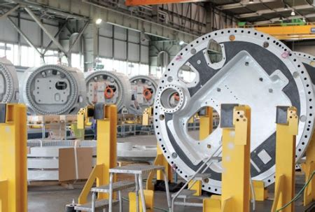 Whell Voller 6 Germani Technologi Production automation speeds up turbine production renewable energy world