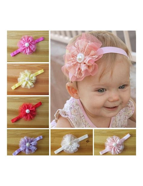 baby headband baby headbands baby from magaro christening baby headband