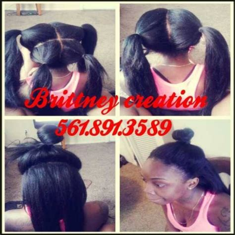 styles for vixen sew ins a flawless sew in by brittney black hair information