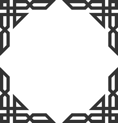 islamic pattern vector png clipart islamic corners ornamentsart