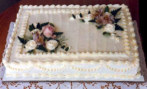Unique Wedding Sheet Cakes With Sheet Cake Wedding Sheet