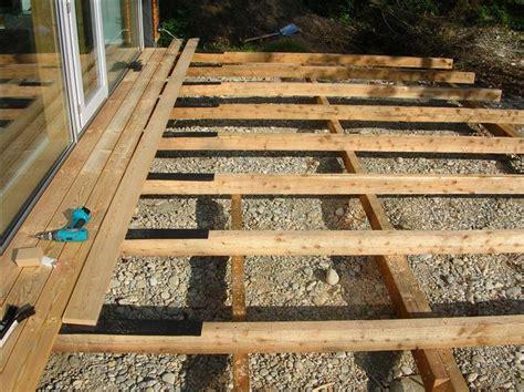 terrasse unterkonstruktion terrasse holz unterkonstruktion bvrao