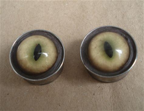 slit l eye glass slit eye earrings by missmonster on deviantart
