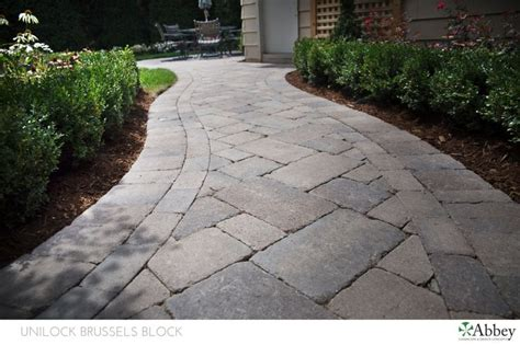Unilock Paver Edging 9 Best Images About Walkway On We Garden