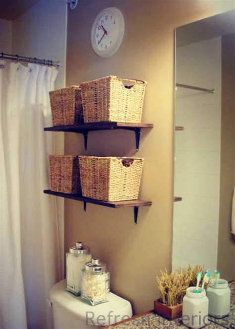 bathroom storage ideas over toilet 17 brilliant over the toilet storage ideas