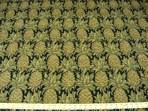 pineapple upholstery fabric textured pineapple tapestry upholstery fabric ft831