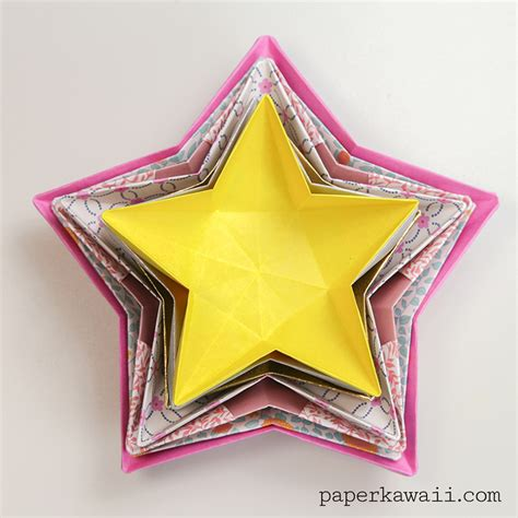 Origami Crafts - origami bowl paper kawaii