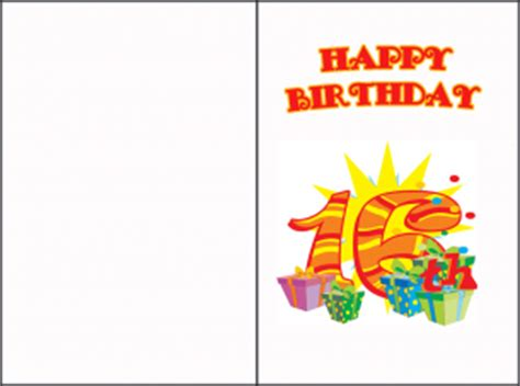 sweet 16 birthday cards