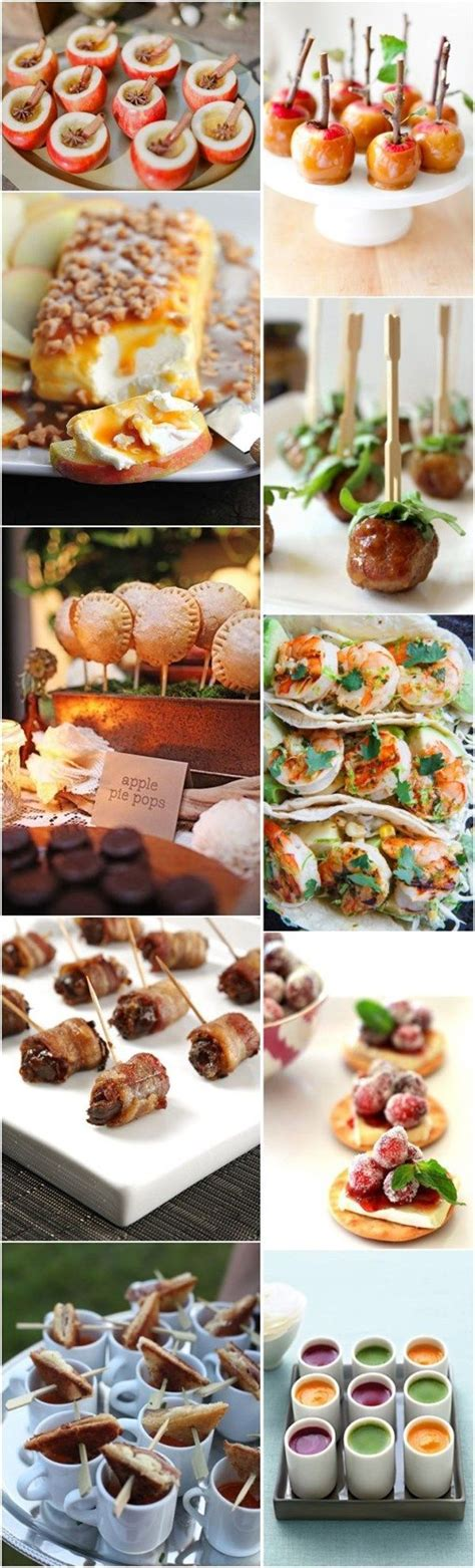 Wedding Appetizers Menu Ideas by Fall Wedding Food Best Photos Wedding Awesome Wedding