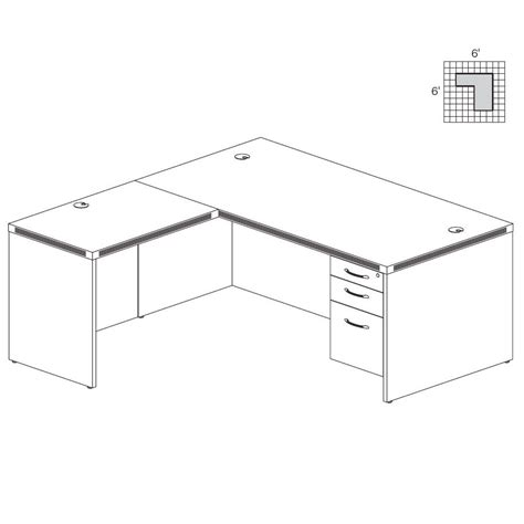 L Shaped Office Desk Dimensions Ideas Greenvirals Style Office Desk Sizes
