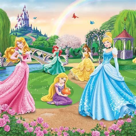 pics photos walltastic disney princess mural disney princess wall murals disney wallpaper