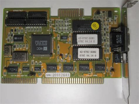 Vga Card Di Lung Lung Hwa Vga Interface Card Computing History