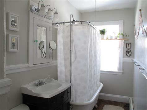 Shower Curtains For Clawfoot Tubs Clawfoot Tub Shower Rod The Homy Design