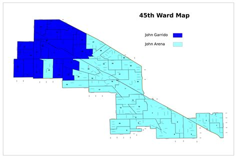 chicago ward map 45th ward race likely to be decided by local issues despite citywide focus jefferson park