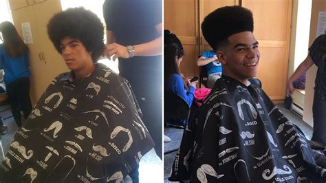 barbers choice haircut canada toronto barber gives free haircuts to street youth at