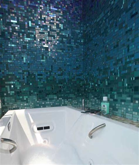 glass tile bathroom photos at susan jablon