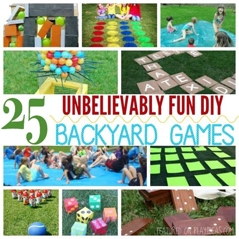 diy backyard fun 25 unbelievably fun diy backyard games for kids fun diy