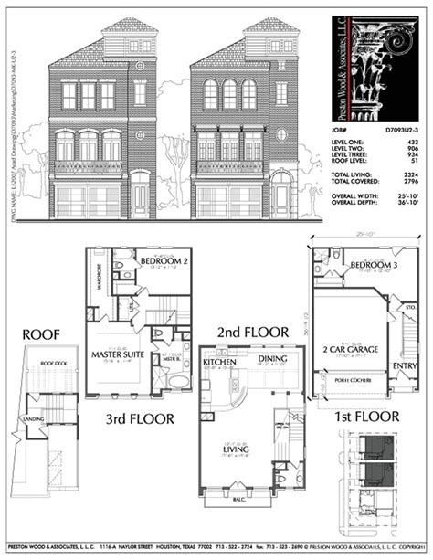 best townhouse floor plans 26 best townhouses images on pinterest floor plans