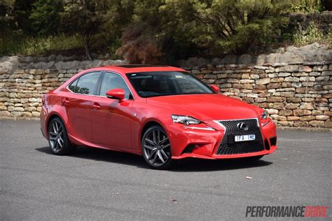 lexus is 2016 2016 lexus is 200t f sport review video performancedrive