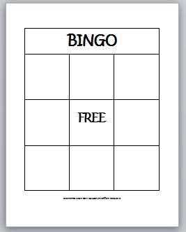 bingo card template learning ideas grades k 8 2 d shapes bingo for