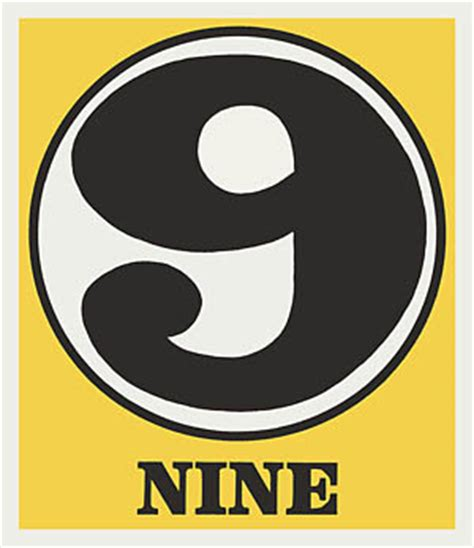 Number Search Indiana Robert Indiana Numbers Plate I At Pop Heaven