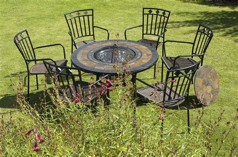 Firepit Table And Chairs Pit Table And Chairs Set Pit Design Ideas