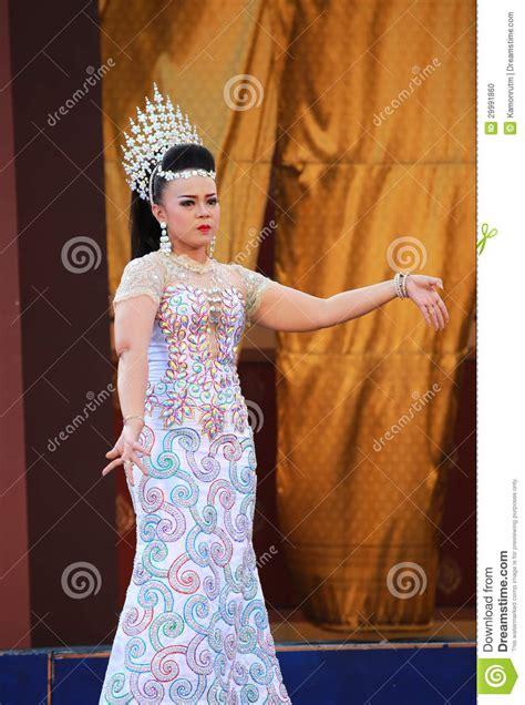 Dress Bangkok Bkk 0023 thai traditional dress editorial image image of luck 29991860
