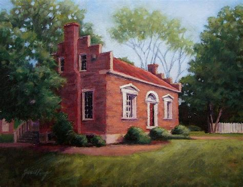 carter house franklin carter house in franklin tennessee painting by janet king