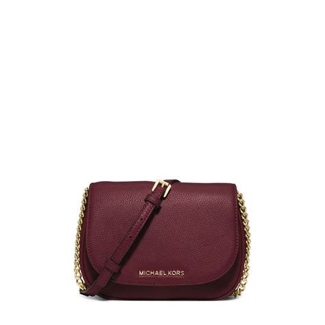Small Leather michael kors bedford small leather crossbody in purple