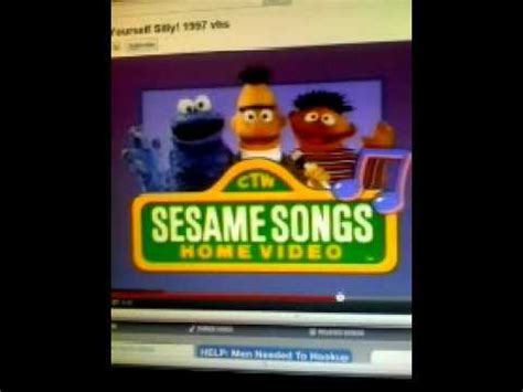 opening to sesame songs sing yourself silly 1990 vhs