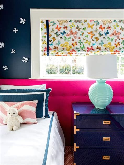 hot pink and blue bedroom blue boys room with blue wallpaper contemporary boy s room