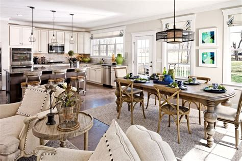 Coastal Dining Room Concept Dc Metro Wood Chair Dining Room Style With Open Concept Modern Pendant Lights Country