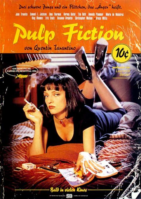 Plakat Quentin Tarantino by Filmplakat Pulp Fiction 1994 Plakat 2 4