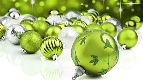 green christmas decorations green christmas ornaments wallpaper 8569 1920 x 1080