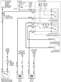 1997 honda civic cooling fan wiring circuit diagram