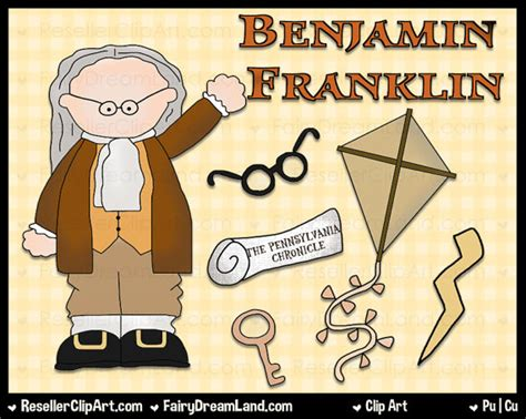 benjamin franklin biography his inventions benjamin franklin digital clip art commercial use graphic