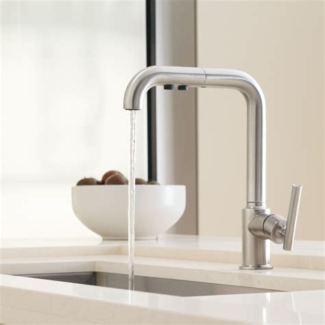 kitchen pull out faucet how to choose a kitchen faucet design necessities