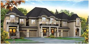 Contemporary Townhouse summit city centre mississauga townhomes phase 2